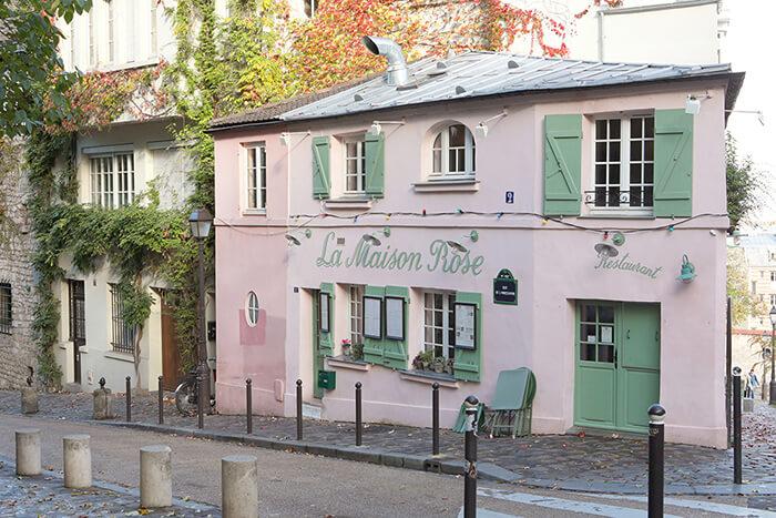 La Maison Rose Montmartre