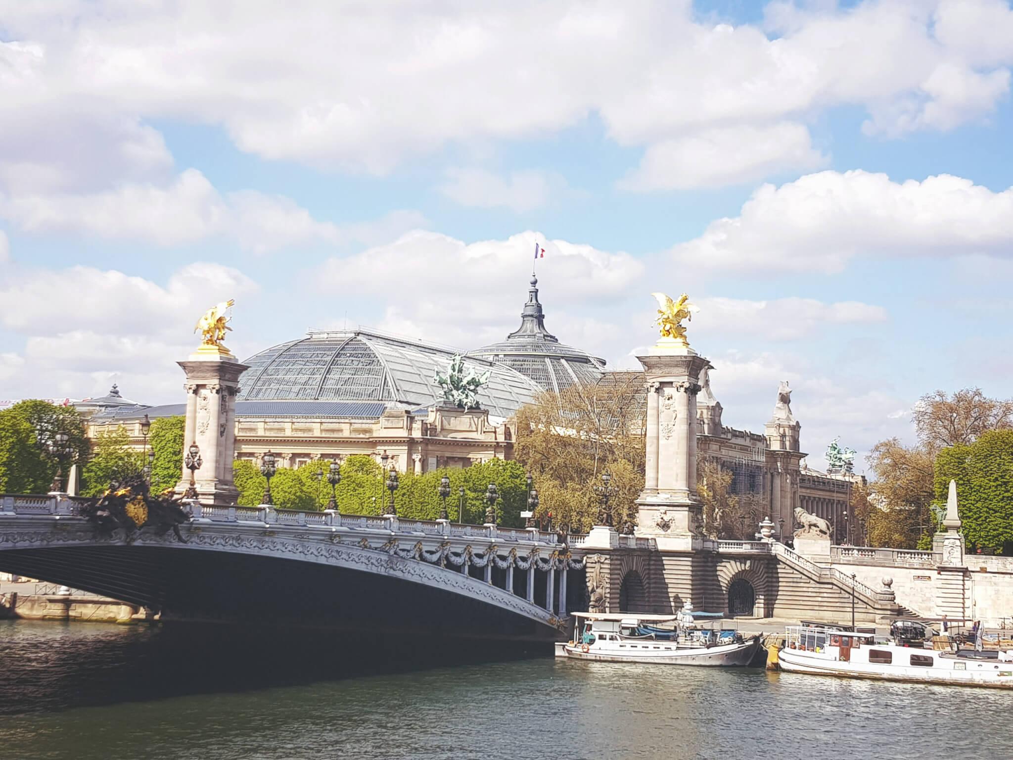 View on Pont Alexandre III