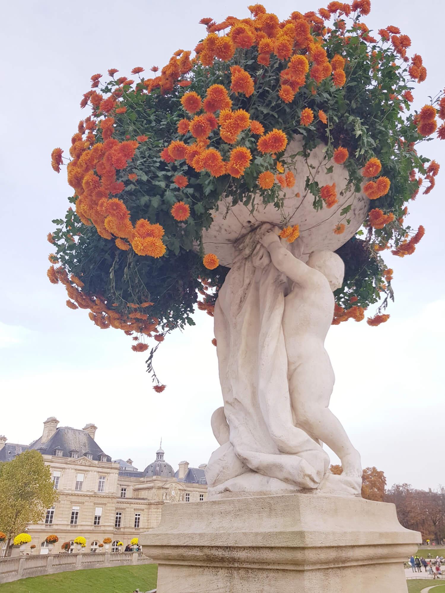 Statue Jardin du Luxembourg