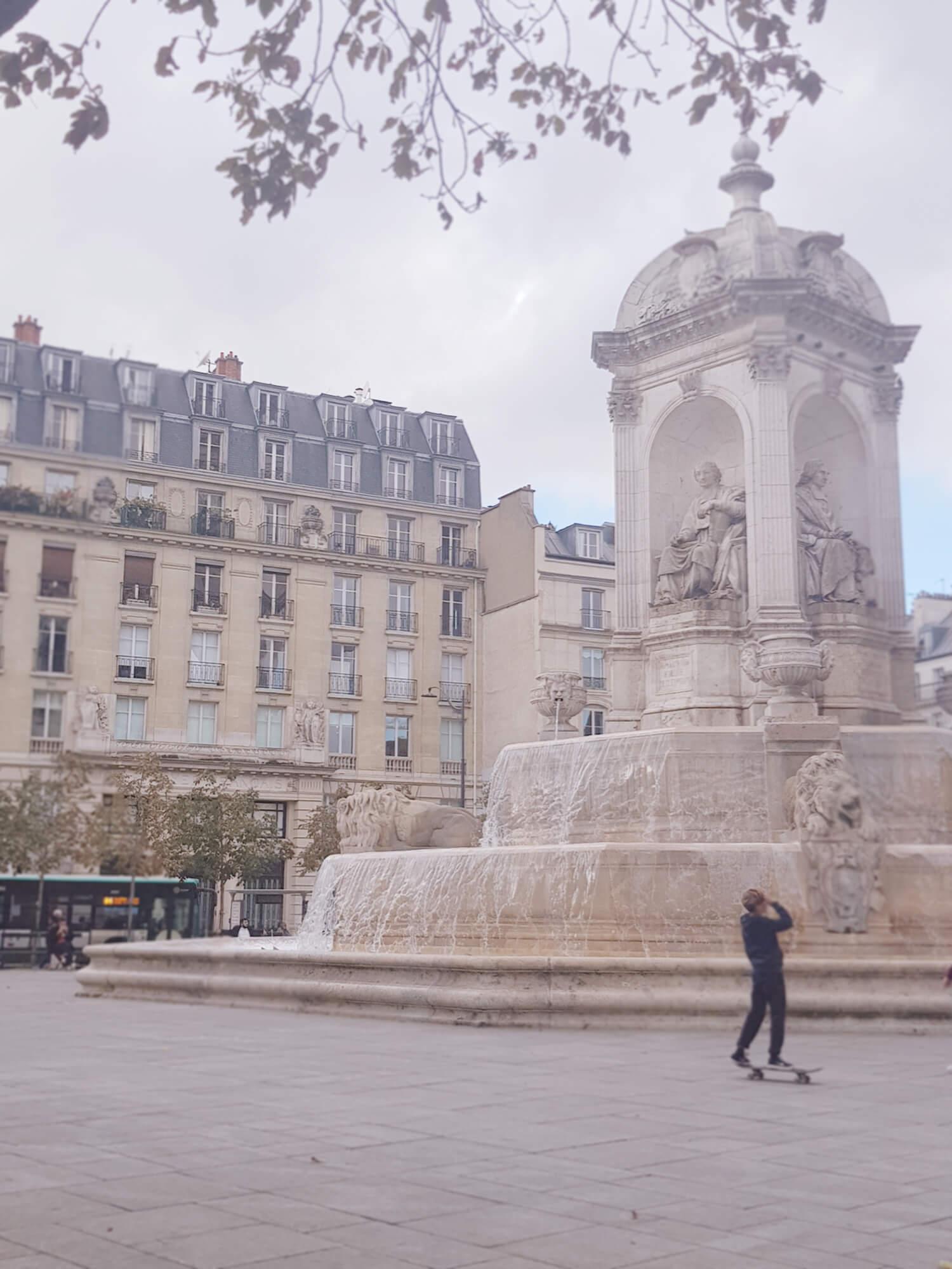Place Saint Sulpice Paris